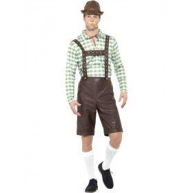 Zickenbock Oktoberfeest Man Kostuum