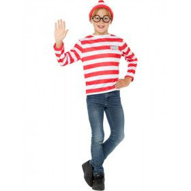 Waar Is Wally Nu Weer Kind Kostuum