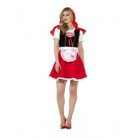 Bijzondere Bos Beauty Roodkapje Vrouw Kostuum
