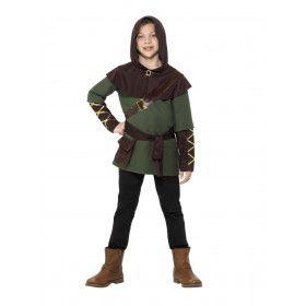 Nachtmerrie Van De Sheriff Robin Hood Jongen Kostuum
