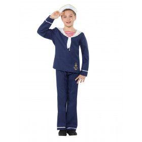 Trossen Los Matroos Noordzee Jongen Kostuum