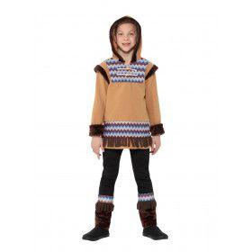 Noordpool Eskimo Koude Neus Jongen Kostuum