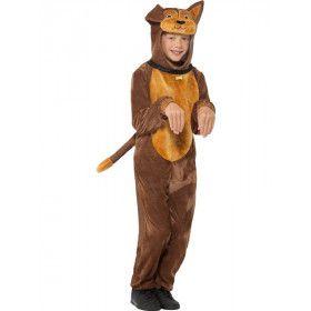 Grote Bruine Hond Kind Kostuum