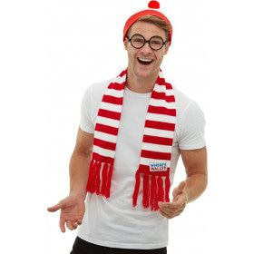 Waar Is Wally Voetbal Supporter Set Driedelig