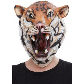 Spinnende Tijger Masker