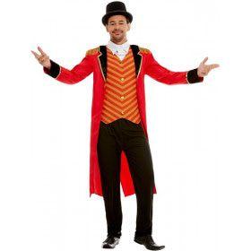 Circusdirecteur Op En Top Showman Kostuum