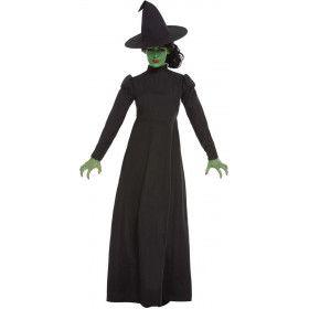 Toverkol Zwarte Magie Vrouw Kostuum