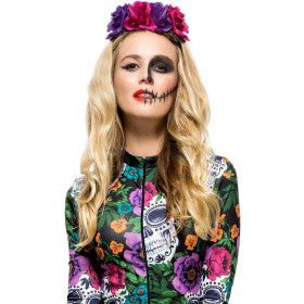 Day Of The Dead Hoofdband Gemengde Rozen