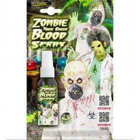 Bio-Wond Zombie Bloedspray, Groen 48 Milliliter