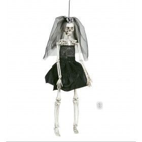 Halloween Deco Skelet Bruidje 42 Centimeter
