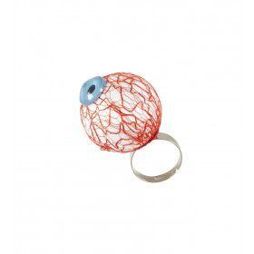 Ring Met Oogbol Horror Donor