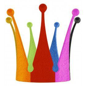 Multicolour Koning Kroon Regenboog