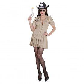 Moderne Sheriff Meisje Vrouw Kostuum