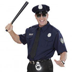 New York Politie American Cop Man Kostuum