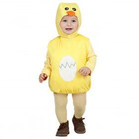 Opgevuld Kuiken Kind Beautiful Duckling Kostuum Kind