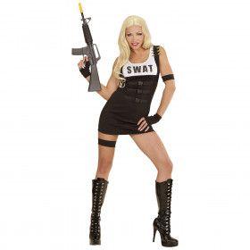 Arrest Me Swat Meisje Vrouw Kostuum
