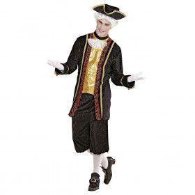 Venetiaanse Edelman Signore Gondola Kostuum