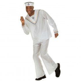 Matroos Love Boat Kostuum Man