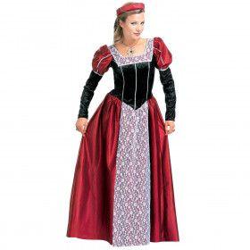 Klassieke Kasteelvrouwe Kostuum