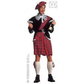 Schots Highlander Kostuum Man