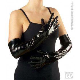 Handschoenen Vinyl, Zwart 56 Centimeter