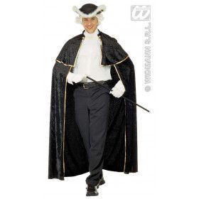 Venetiaanse Cape Fluweel Gentiluomo Kostuum Man