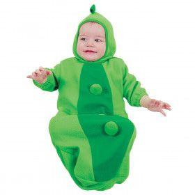 Schattige Erwt, Baby Kostuum Kind