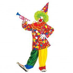 Harlekino Funny Clown Kostuum Jongen