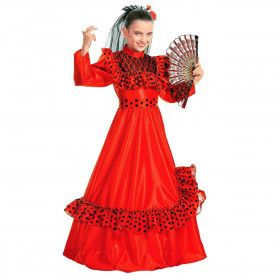 Spaans Meisje Ballerina Kostuum