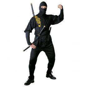 Ninja Golden Dragon Bruce Lee Kostuum Man