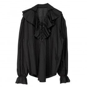 Piratenshirt Zwart Man