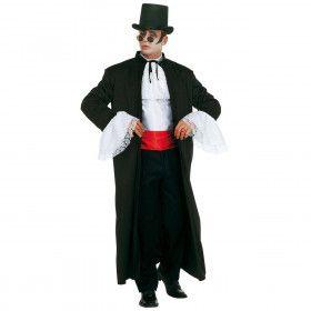 Snelle Verkleedset, Dracula Transylvanian Gentleman XL Kostuum