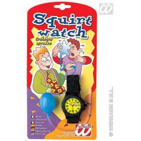 Spuitend Horloge