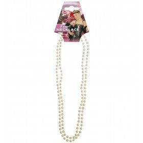 Glamour Parelketting 57 Centimeter, Wit