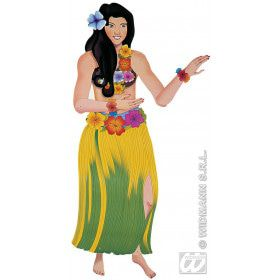 Decoratie Hawaiiaans Meisje, 135 Centimeter