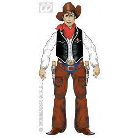 Decoratie Cowboy, 135 Centimeter