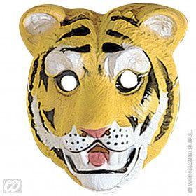 Plastic Kindermasker, Tijger