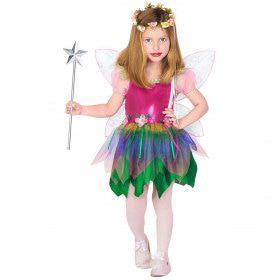 Schattige Prinses Regenboog Fee Kostuum Meisje