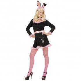 Black Bunny, Zwart Kostuum Vrouw