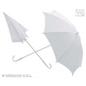 Paraplu Wit 60 Centimeter Doorsnee