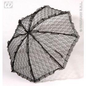 Kanten Paraplu Zwart