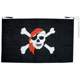 Piratenvlag 130x80 Centimeter