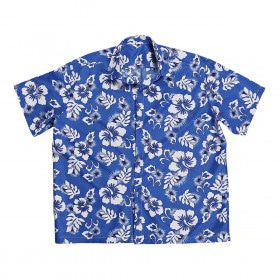 Hawaii Shirt Blauw Man