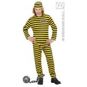 Boef Kind Geel-Zwart Zware Jongen Kostuum
