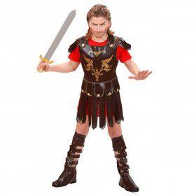 Romeinse Gladiator Kind Kostuum Jongen