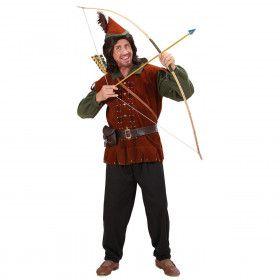 Middeleeuws Robin Of The Hood Kostuum Man