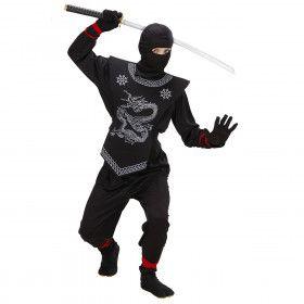 Zwarte Ninja Prince Of Thieves Kostuum Jongen
