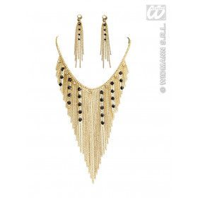 Ketting En Oorring Set Neferitti