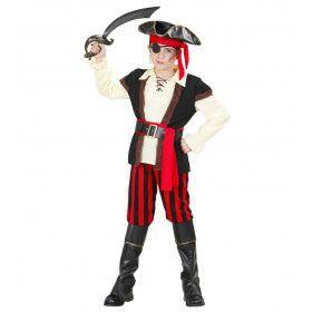 Buckaneer Piraat Kind Kostuum Jongen