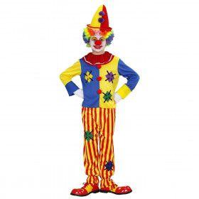 Circus Clown Kind Kostuum Jongen